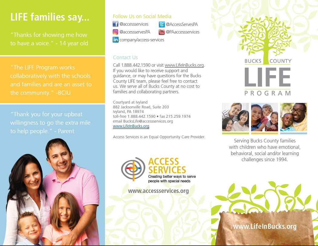 Parents As Equal Participants In Team >> Resources Events Bucks Life Program Bucks Life Program